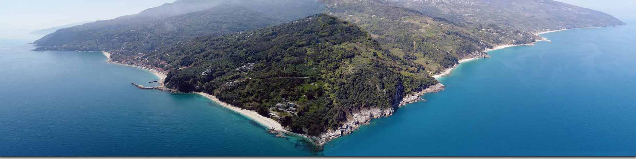 Pelion Beaches from Mylopotamos to Chorefto